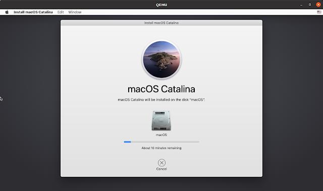 macOS installing