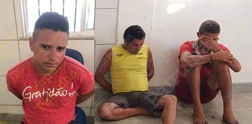 Dois presos e um menor apreendido por tráfico de drogas em Icapuí-CE
