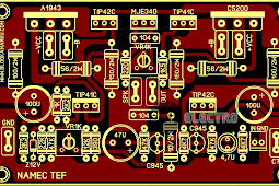 PCB Layout Power Amplifire NAMEC TEFF