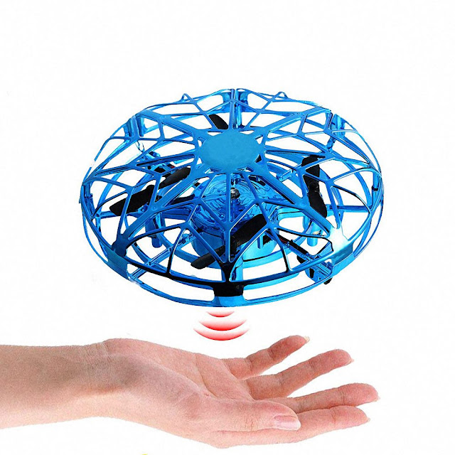 UFO Flying Helicopter. Mini Induction Drone Electronic Antistress Toy