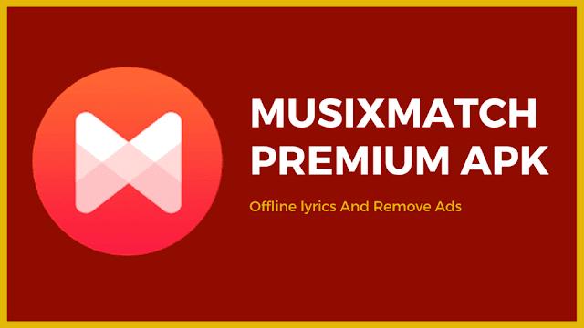 musixmatch النسخة المدفوعة