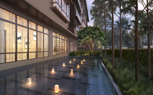 Parkwood Residences Reflective Pool