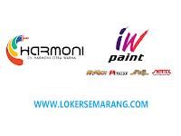 Loker Semarang Bulan September 2021 di CV Harmoni Citra Warna
