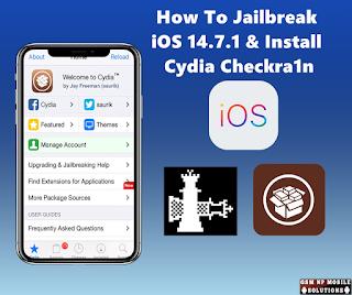 How To Jailbreak iOS 14.7.1 & Install Cydia Checkra1n