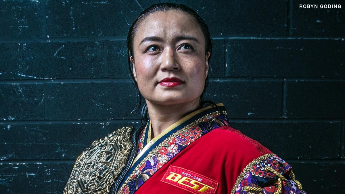 Meiko Satomura pode ter assinado com a WWE