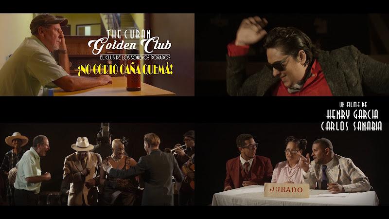 The Cuban Golden Club - El Club de los Soneros Dorados - Haila María Mompié - Félix Baloy - ¡No corto caña quemá! - Videoclip - Dirección: Henry García - Carlos Sanabia. Portal Del Vídeo Clip Cubano