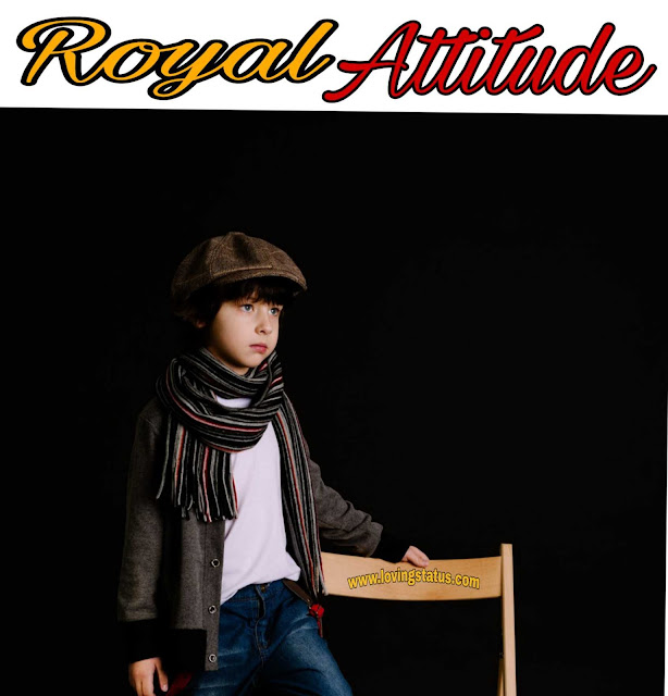 Royal Attitude Shayari-Hindi