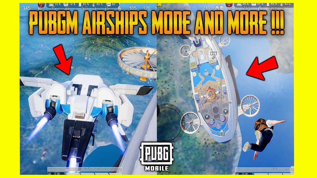PUBG Mobile Update Airship Mode is coming soon