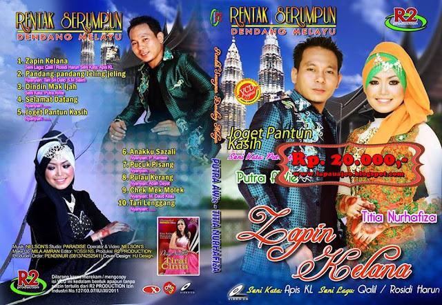 Putra Awie & Titia Nurhafiza - Zapin Kelana (Album Dendang Melayu)