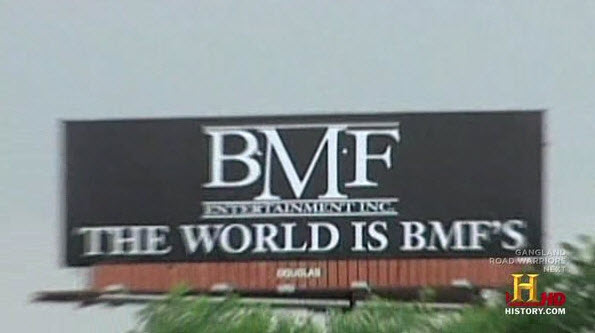 BMF Entertainment, Inc. The World is BMF's giant billboard