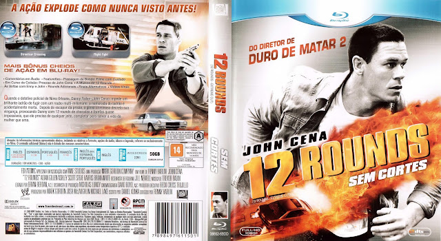 Capa Blu-ray 12 Rounds