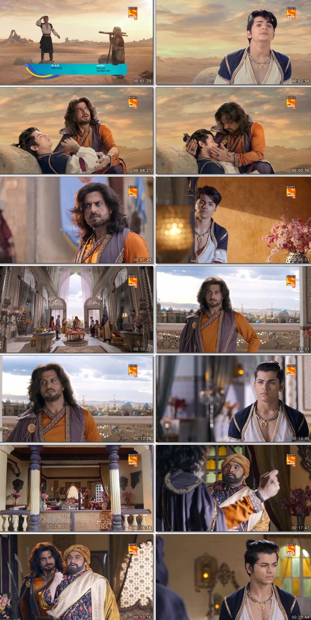 Screenshots Of Hindi Show Aladdin – Naam Toh Suna Hoga 2019 Episode 257 300MB 720P HD
