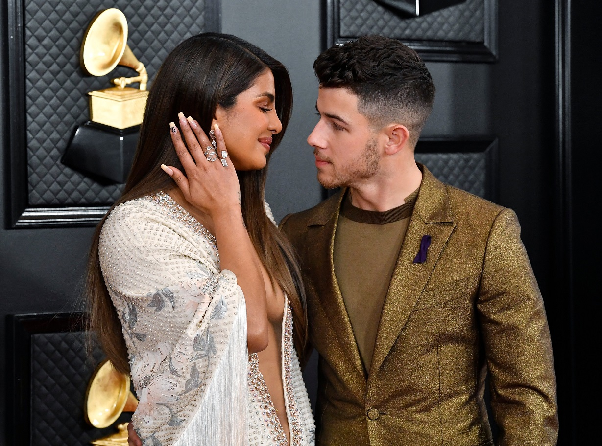 Priyanka Chopra Sizzles In Plunging Gown At Grammys With Hubby Nick Jonas