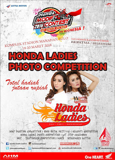 Lomba Foto - Honda Ladies - Modif Contest - Solo 2016