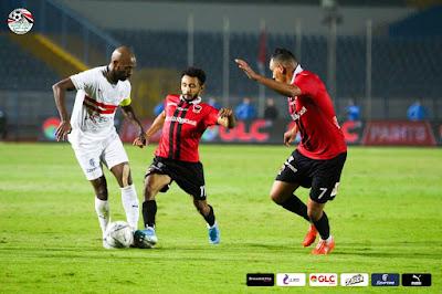 ملخص واهداف مباراة الزمالك ونادي مصر (2-1) كاس مصر