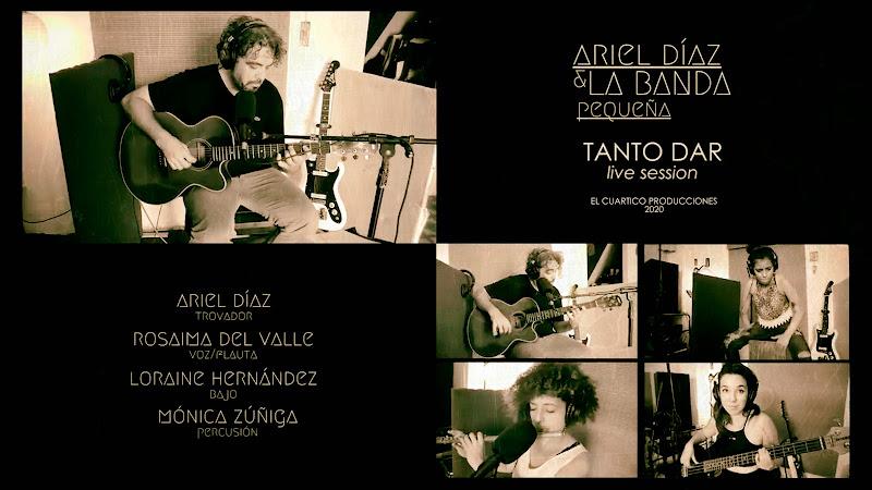 Ariel Díaz y La Banda Pequeña - ¨Tanto dar¨ - Videoclip. portal Del Vídeo Clip Cubano. Música cubana. CUBA.
