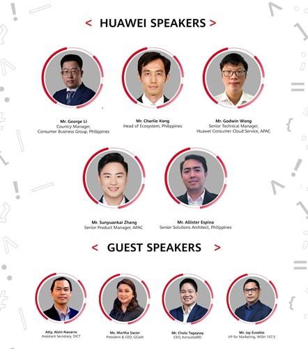 Huawei Developer Day 2021 Guest Speakers