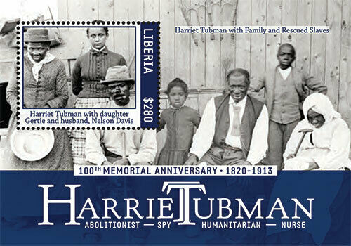 Liberia - 2013 - HARRIET TUBMAN - Souvenir Sheet