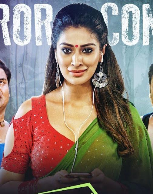 Laxmi Raai Hot in Transparent Saree and Golden Blouse   Sowkarpettai Tamil Movie Hot Spicy Devil Stills Navel Queens