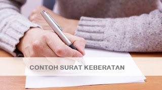 Contoh Surat Keberatan Karyawan