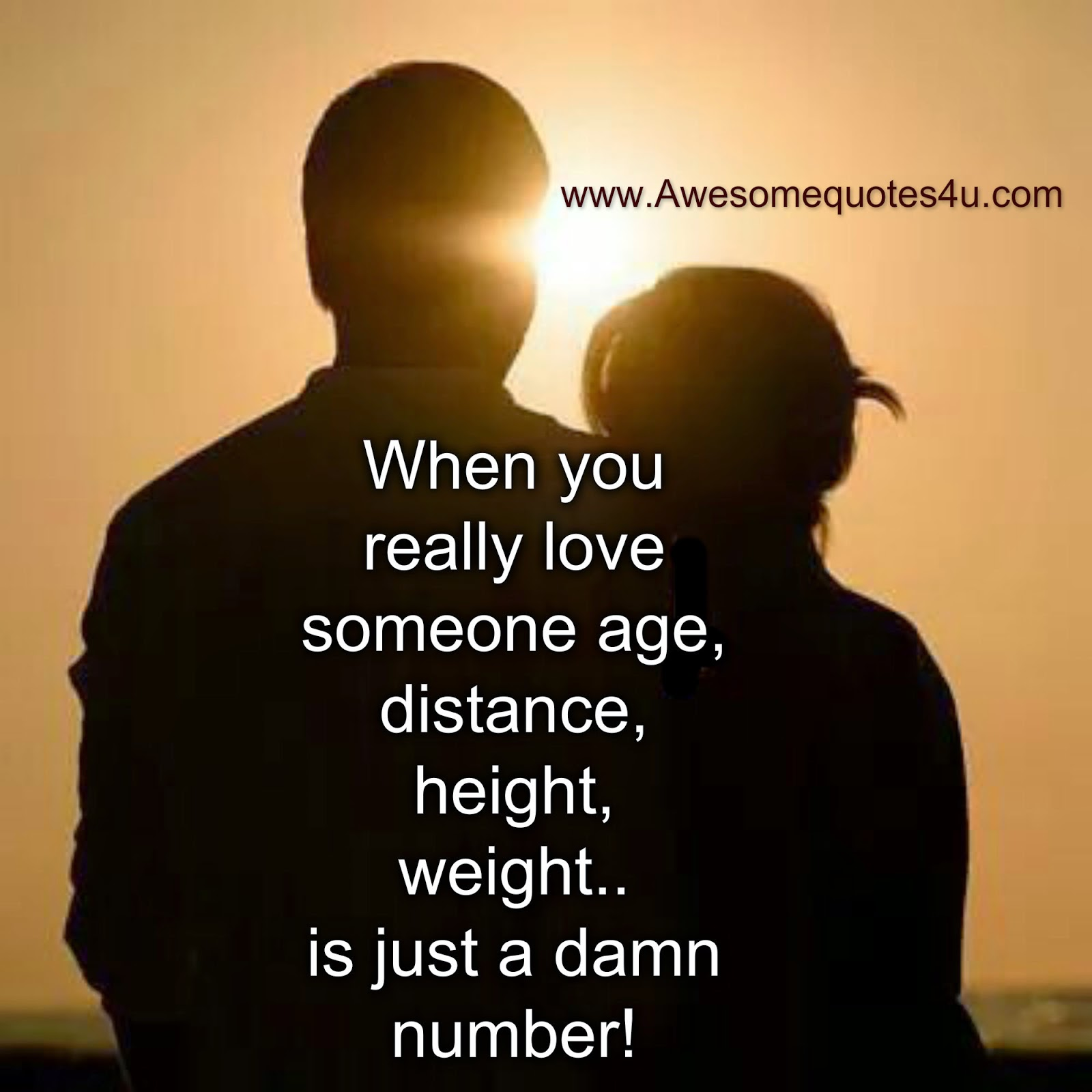 Awesome Quotes: When You Really Love Someone