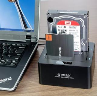 Pengertian HDD Docking Station, Fungsi dan Penjelasannya