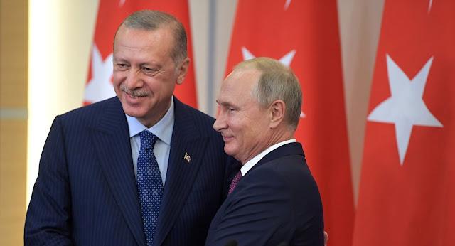 بنود اتفاق سوتشي 2019 بين تركيا و روسيا حول شرق الفرات