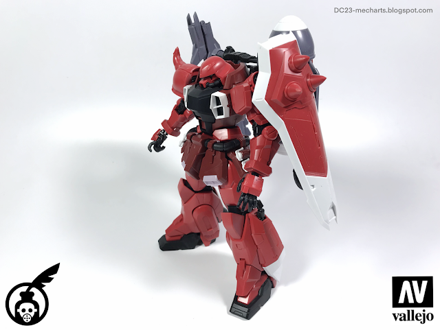 MG Gunner Zaku Warrior REVIEW version DC23 Photo