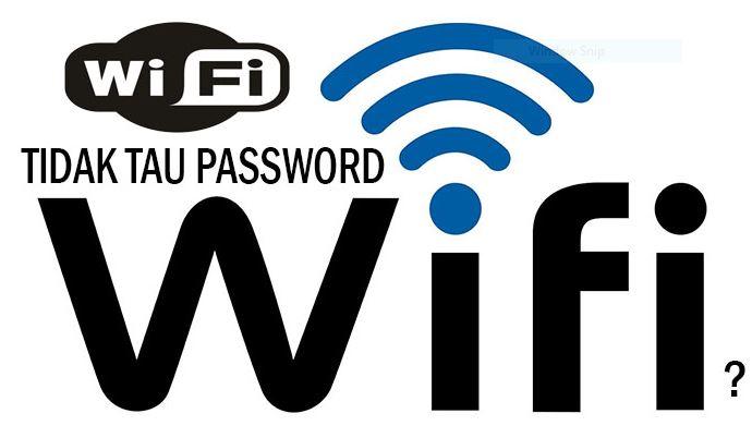2 Cara Mudah Mengetahui Password Wifi Di Windows 10 100 Berhasil