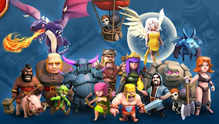 Clash Of Clans Wizard Town Hall 8