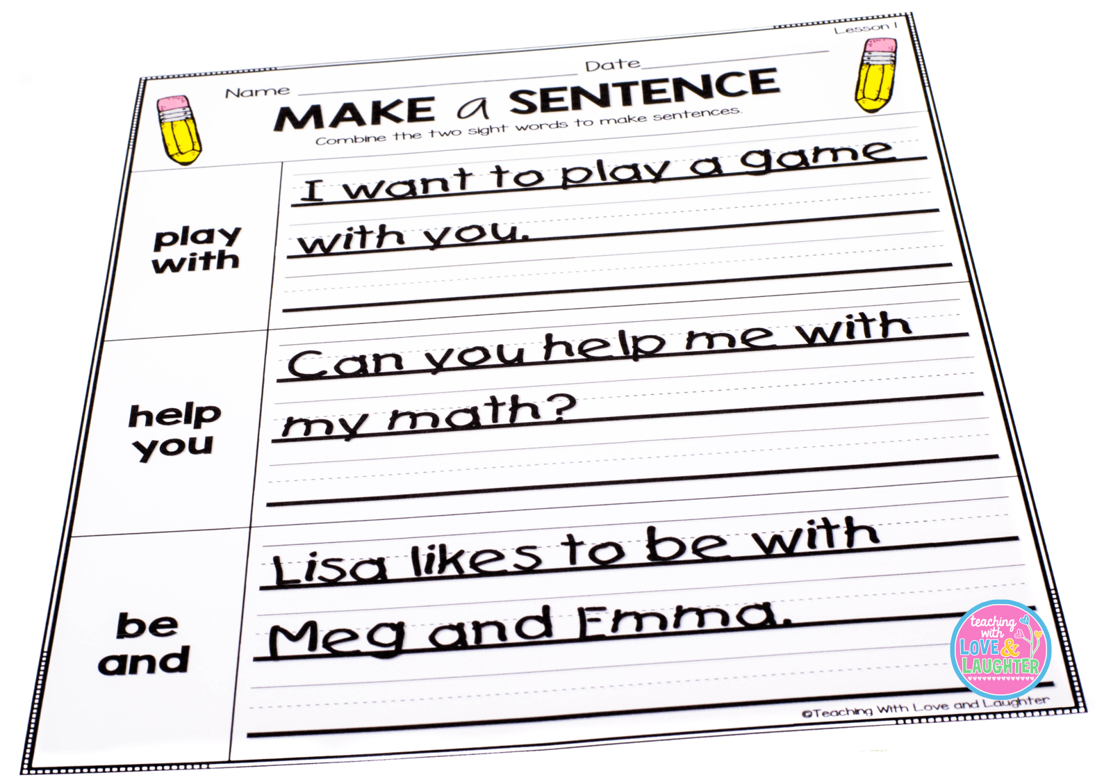 Pack Sentence Examples