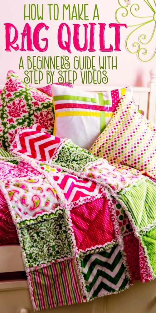 How to make a rag quilt - Easy beginner's guide