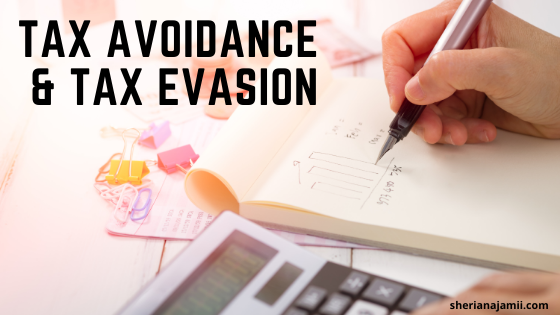 Tax Avoidance and Tax Evasion (meaning, strategies, consequence and difference)