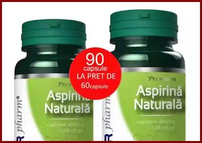 pareri asipirina naturala organica din plante dvr pharm