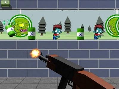 العاب زومبي ضد النباتات - لعبة Zombie Target Shoot