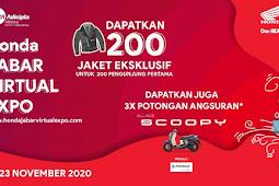 Honda Jabar Jualan Motor Lewat Virtual Expo