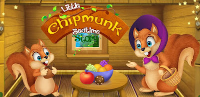 Little Chipmunk Bedtime Story