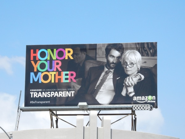 Honor your mother Transparent Emmy 2015 billboard