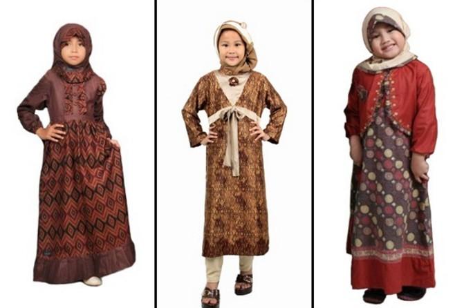 20 Model Baju Batik Anak Perempuan Kreasi Baru Dengan Desain Masa