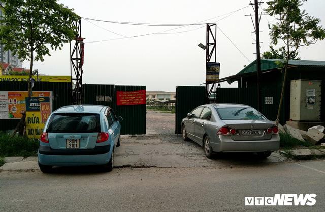 Giải tỏa bãi đỗ xe ở Linh Đàm và Kim Văn Kim Lũ - Ảnh 6