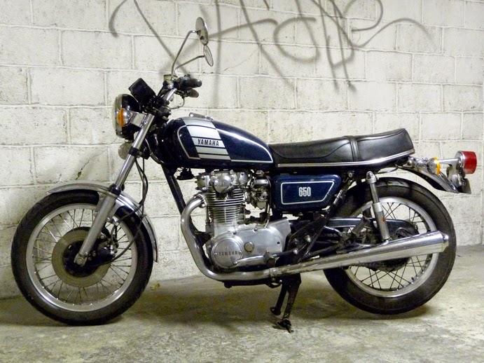 moto yamaha 650 xs