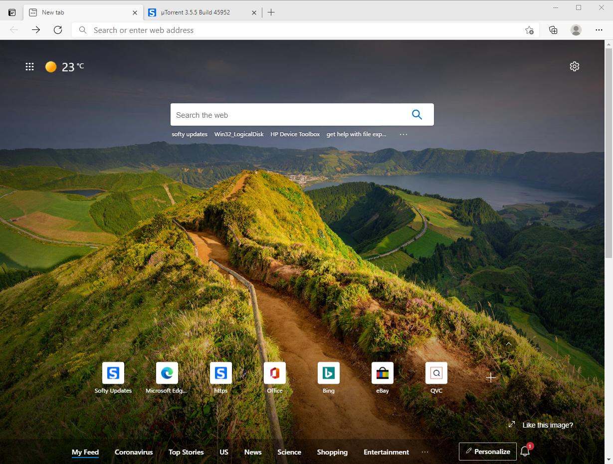 Microsoft Edge 89.0.774.54