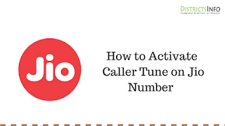 How to Activate Caller Tune on Jio Number  with (SMS and Music App)