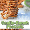 GARLIC-RANCH PRETZELS