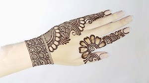12+ Beautiful Simple Mehndi Design Images for Rakhi Special Mehndi 2020