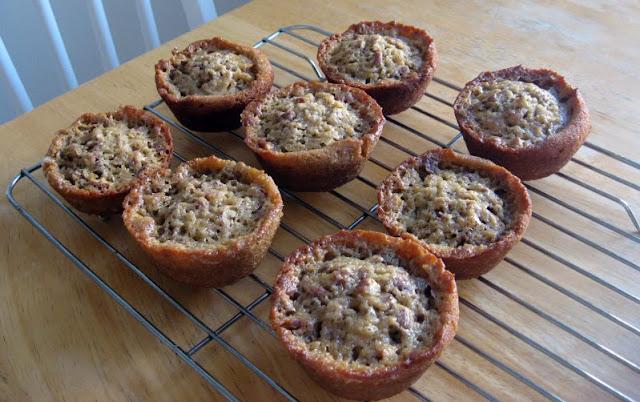 Pecan Pie Muffins by freshfromthe.com