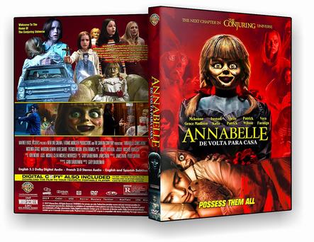 DVD Annabelle 3 – De Volta Para Casa 2019 - ISO