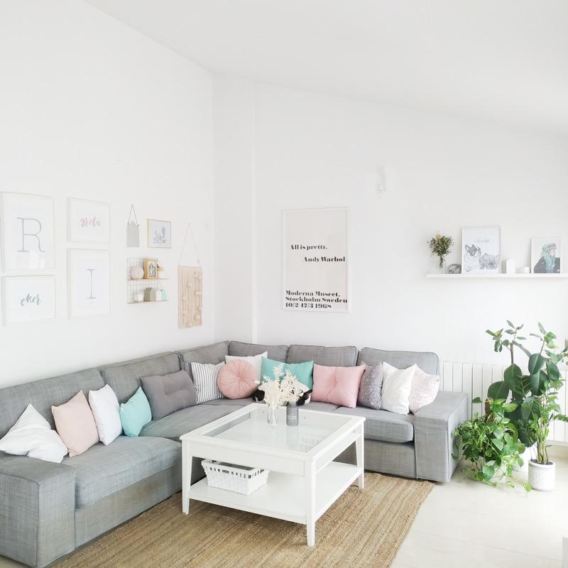 Nueva propuesta de mi salon en colores pastel