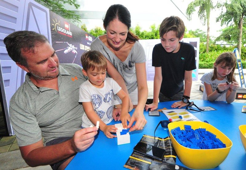 legoland malaysia resort family building activity