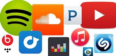 Aplikasi Streaming Musik Online Untuk Pengguna Internet Kartu Seluler Di Indonesia
